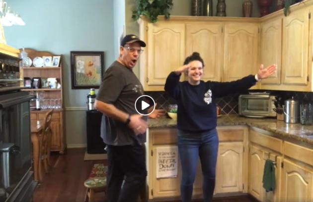 family dance videos in iso
