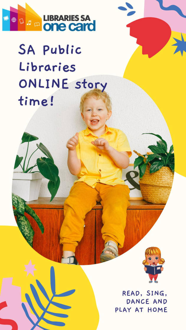 sa libraries online story time