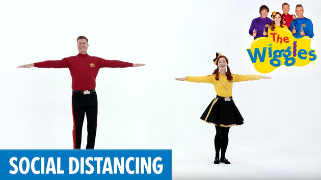 the wiggles social distancing