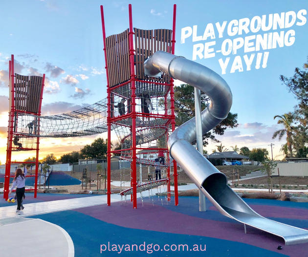 playgrounds re-opening south australia