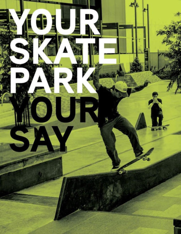 your skate park your say