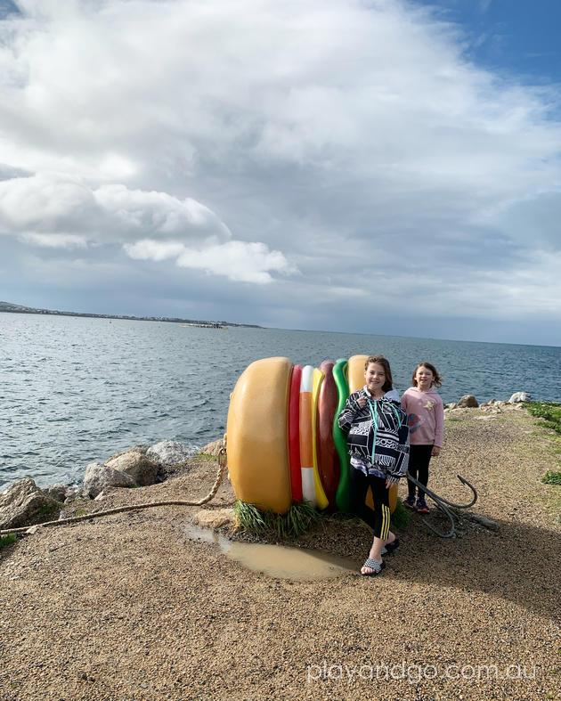 granite island hamburger