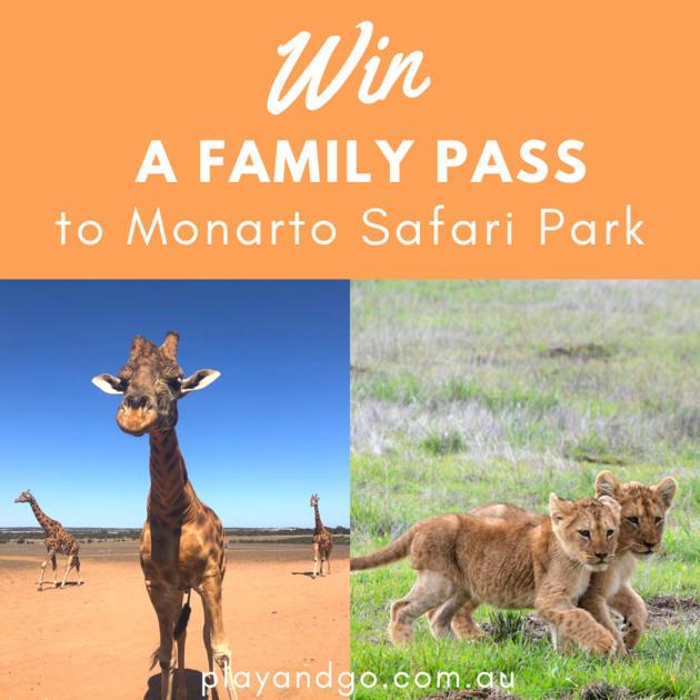 monarto safari park giveaway