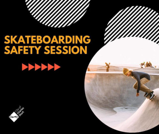 skateboarding safety session