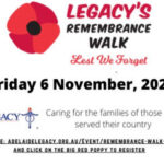 legacy remembrance walk