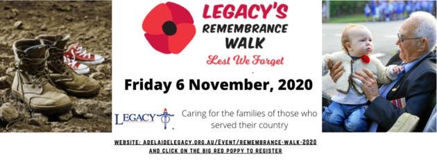 legacy remembrance walk