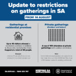 update to gathering restrictions