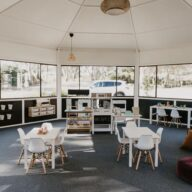 vintage chef co Barossa play area cafe