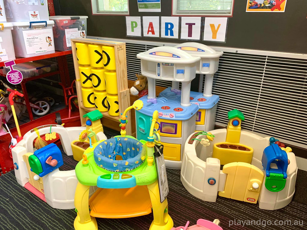 Burnside toy library