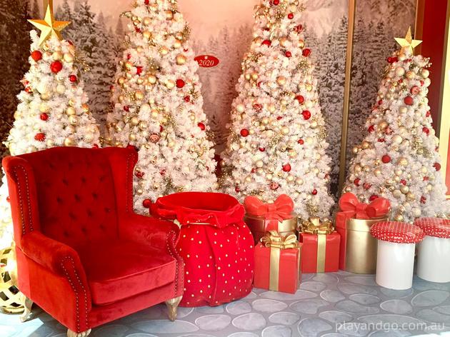 Santa Visit at Burnside Village