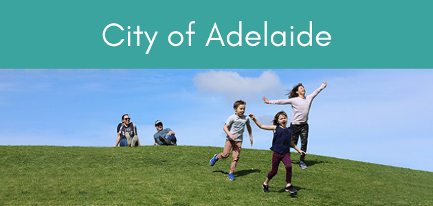 city of adelaide free trails
