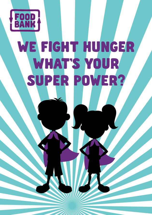 foodbank sa superhero