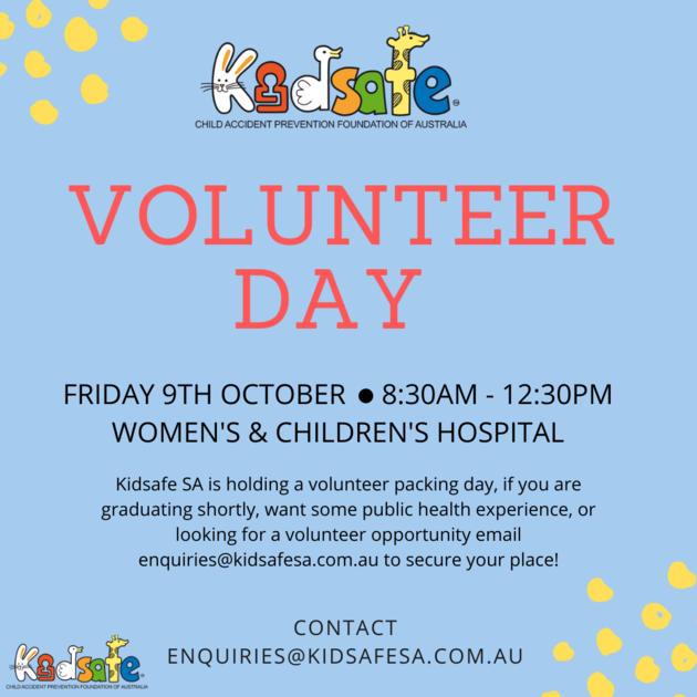 kidsafe volunteer day