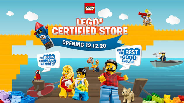 lego certified store