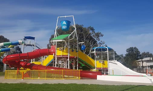 marion outdoor pool water park