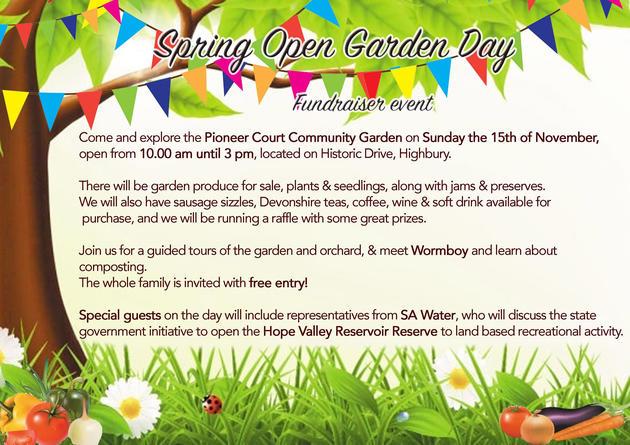 spring garden open day