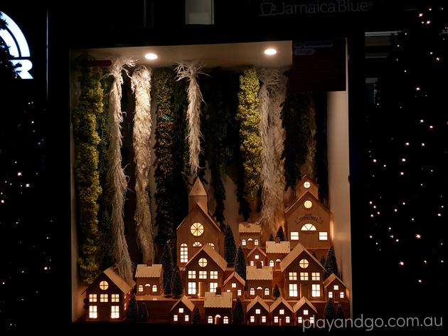 rundle mall christmas window display