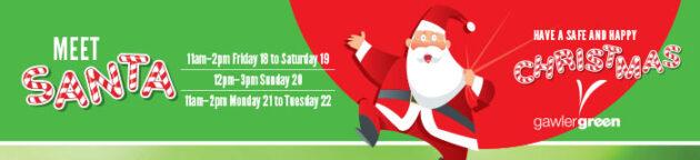 Meet Santa at Gawler Green