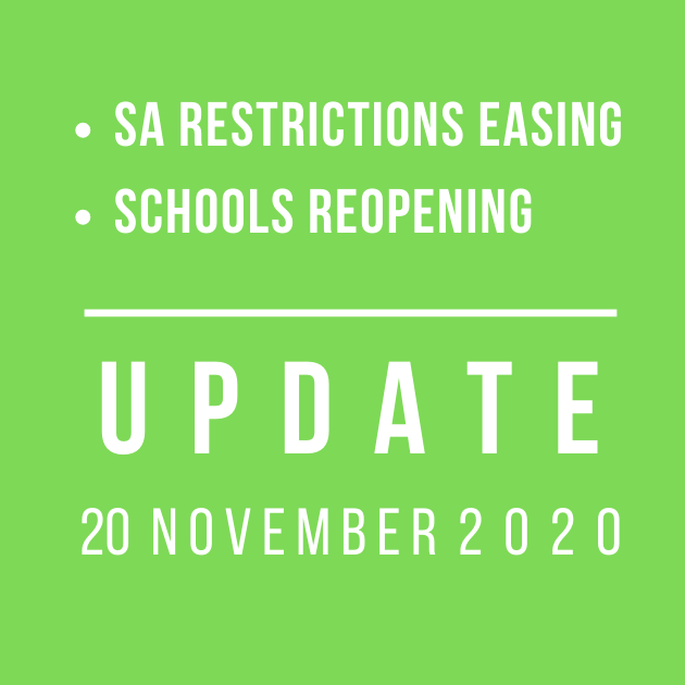 SA Easing of Restrictions