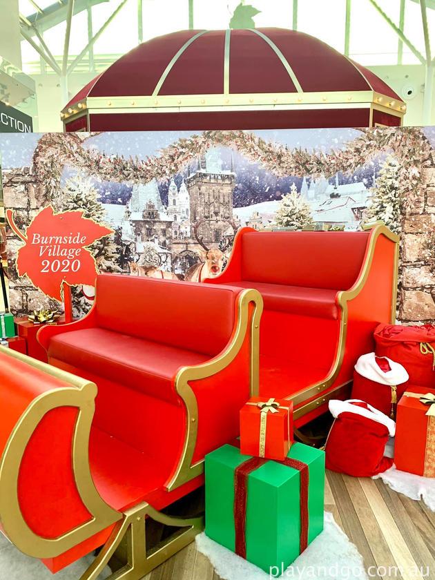 burnside santa sleigh
