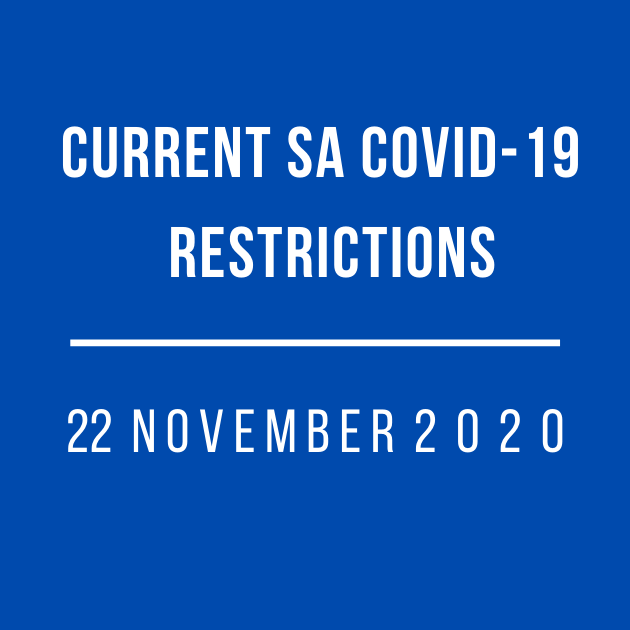 current covid-19 restrictions south australia