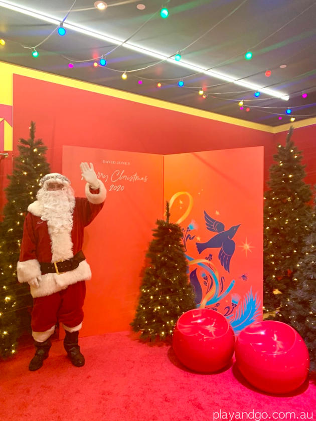 Father Christmas magic cave Adelaide