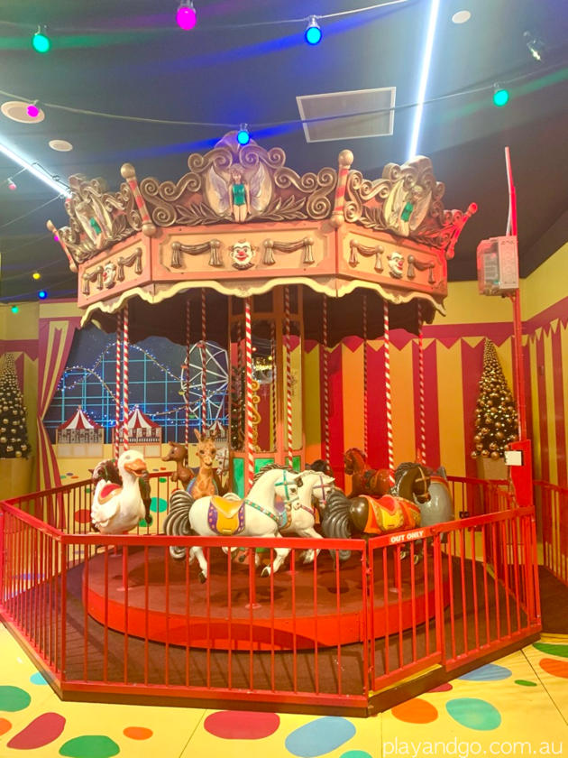 magic cave carousel