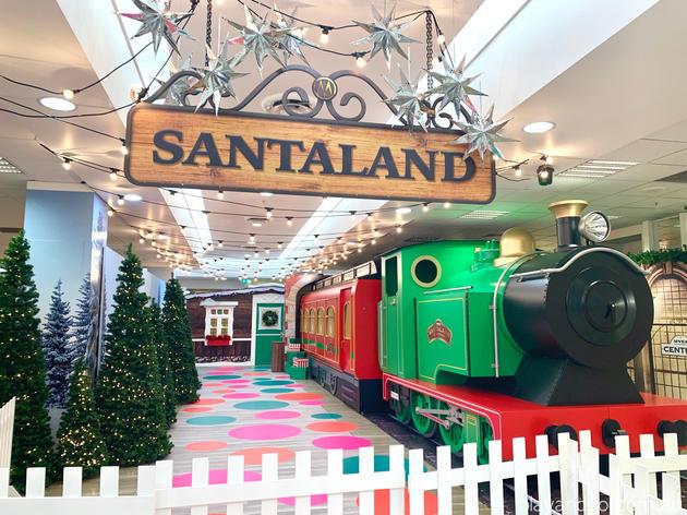 myer santaland train Rundle Mall