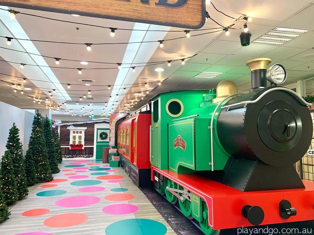 myer santaland train Adelaide