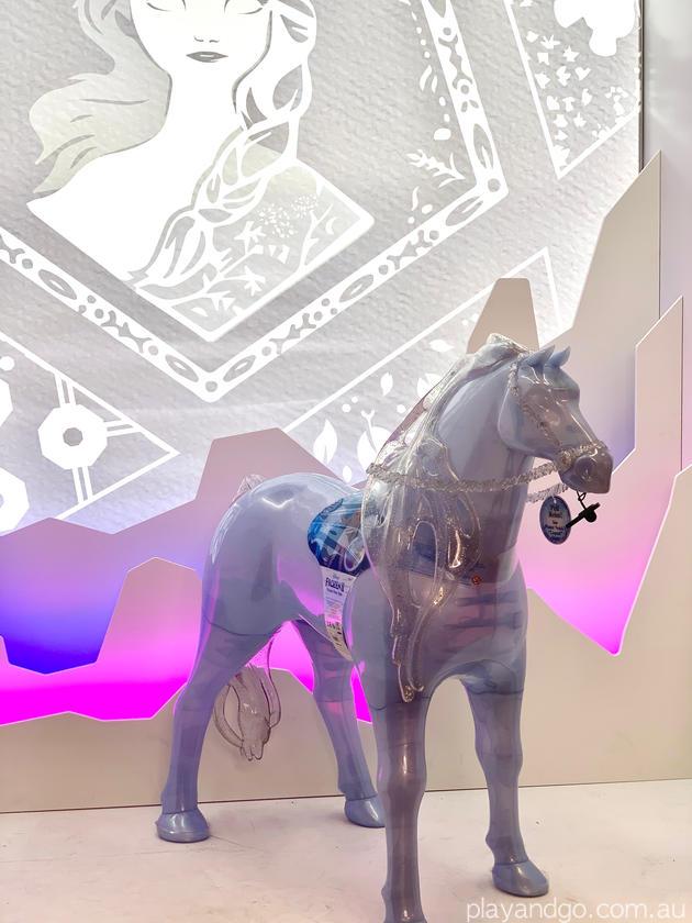 Myer Santaland disney frozen pony