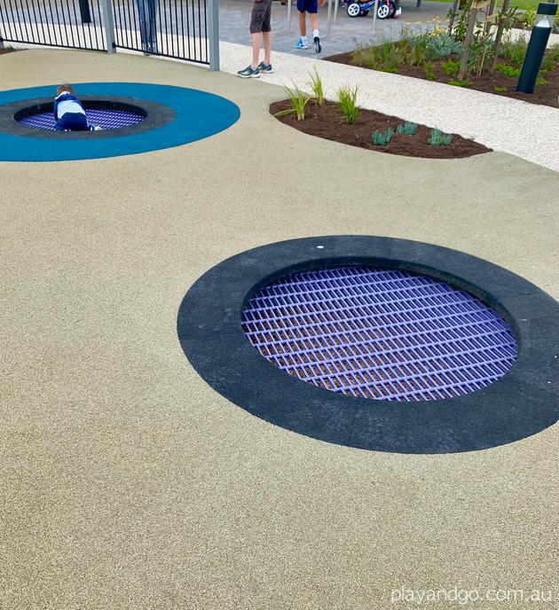 wigley glenelg playground trampoline