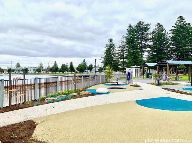 wigley reserve glenelg playground fencing