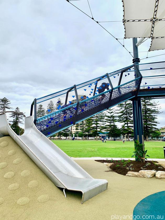 wigley reserve glenelg playground slides