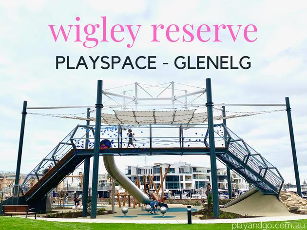 wigley reserve glenelg playground