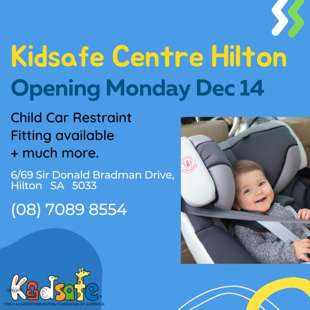 kidsafe centre hilton