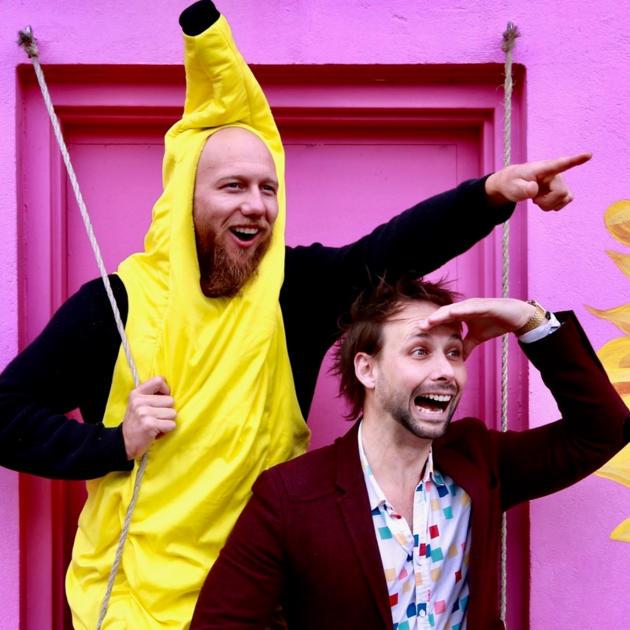 Around The World with Mozart the Banana Man!