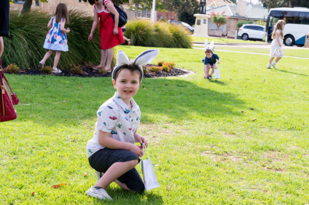 Easter at Glanville Hall