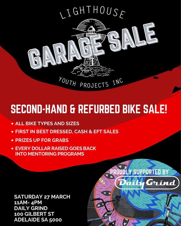 lighthouse garage sale