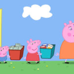 peppa pig recycling