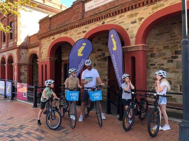 port adelaide bike hire