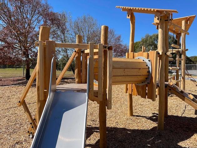 Kersbrook playground Adelaide Hills