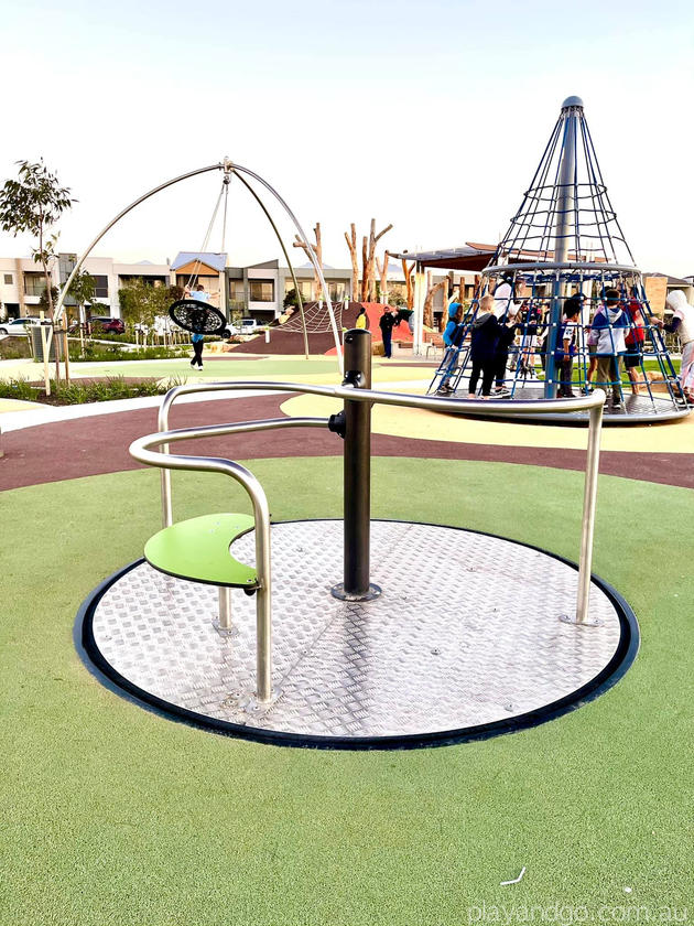 Lightsview Playground Adelaide inclusive spinner