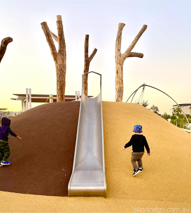 Lightsview Playground slide