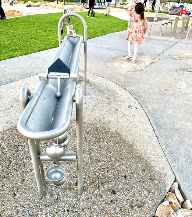 Lightsview Playground water table
