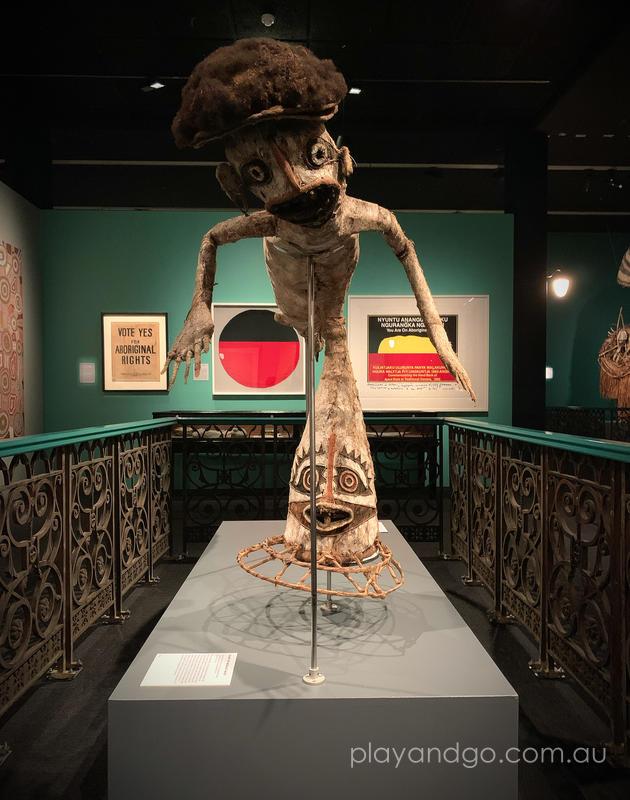 Wonders from the South Australian Museum - Eharo or 'Mermaid' Mask