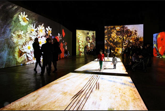 Van Gogh Alive Illuminate Adelaide