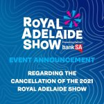 royal adelaide show cancelled