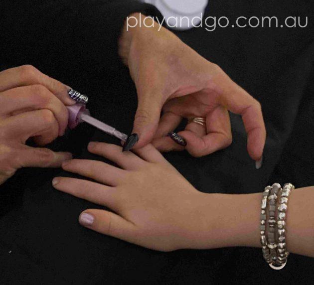 The Nail Bar at The Royal Princess Ball Image Credit Susannah Marks