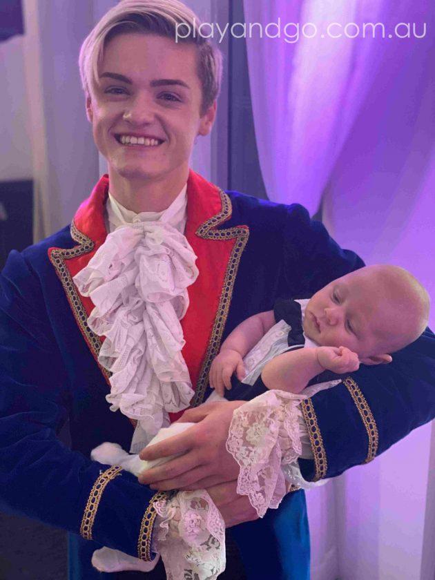 Two handsome princes at the Royal Princess Ball Image Credit Susannah Marks