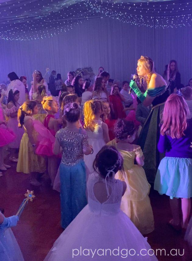 On the dancfloor at The Royal Princess Ball Image Credit Susannah Marks